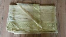 Accessorize large gold scarf