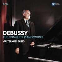 Walter Gieseking - Debussy: Il Completo Pianoforte Donna Nuovo CD