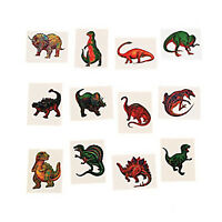 DINOSAUR PARTY Kids Temporary Tattoos T Rex Favour Tattoo Pack of 36 Free Post