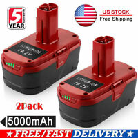 2x 5.0Ah 19.2V For Craftsman Lithium Battery C3 XCP 130279005 1323903 130211004