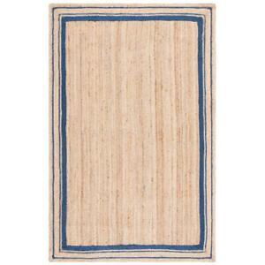 Rug 100%  Natural Braided Jute Reversible modern living Area Carpet Runner Rug