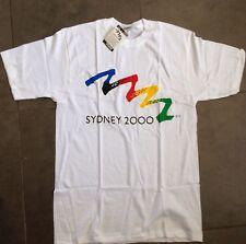 Sydney 2000 Olympic Games T-shirt SizeS 85-90cm Official Olympic Logo Bonds BNWT