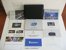 2000 Mercedes R170 SLK SLK230 Kompressor Owner Manuals Operator Books Pack E172