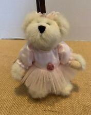 "Boyds Bears Twilla Twinkletoes # 56302 Ornament 5"" tall pink tutu"