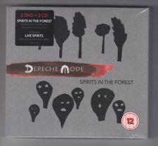 DEPECHE MODE - SPiRiTS IN THE FOREST - 2 x CD + 2 x DVD, DIGIPAK, NOWA, FOLIA