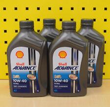 ( 6,73€/ L) 4l Shell Advance 4t Ultra 10w-40 ACEITE DE MOTOR QUAD vollsyntetik