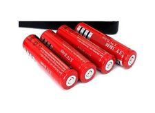 4 Pile Batterie Ricaricabili Li-Ion 18650 5800mah 3.7V hsb