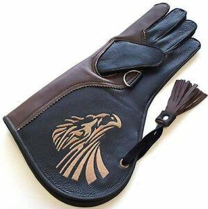 Falconry Glove. Leather Bird Handling Glove. Falconry Gloves