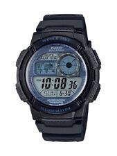 Casio AE1000W-2A2V, 10 Year Battery Watch,100M, 5 Alarms,Chronograph,Illuminator