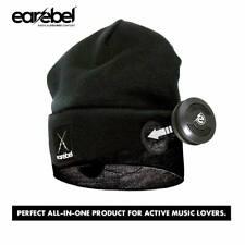 "Earebel Street Beanie with Bluetooth® Sports Headphone High Quali sound  ""BLACK"""