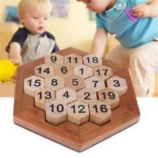 Brain Teaser IQ Digital Puzzle Games Learning Number Educational Wooden Toys S