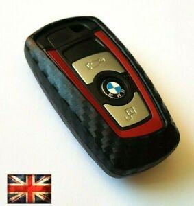 BMW KEY COVER REMOTE 1 2 3 5 7 M SPORT SERIES F10 F20 F30 CARBON FIBER CASE