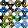 NATURAL SOUNDS OF NATURE 16 RELAXING AUDIO CDS WATERFALLS BEACHES WAVES THUNDER