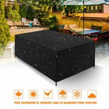 Gartentisch Abdeckung Schutzhülle Gartenmöbel Abdeckplane Garnitur Wasserdicht