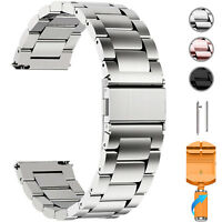 Watch Band Wrist Stainless Steel Quick Release Strap18/20/22/23mm Link Belt Tool