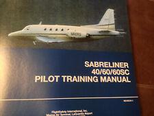 Sabreliner 80 Model Sabreliner 75A Passanger Information Card