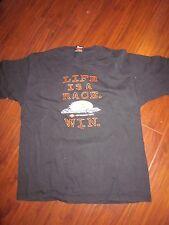 Life Is A Race Win Harley Davidson Screamin Eagle T Shirt N Canton OH XL  (BIN5)