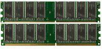 2GB DDR PC2100 2 GB PC 2100 2X 1GB 266 DESKTOP MEMORY