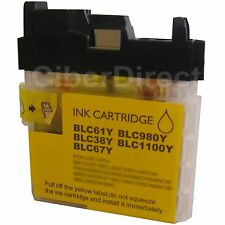 YELLOW ink cartridge for BROTHER DCP195C printer