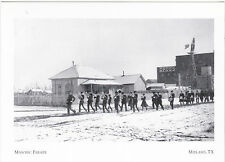 "*Postcard-""1904 Masonic Parade"" -from Neighbor Odessa Tx- @ Midland, Tx (#11)"