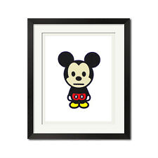 A Bathing Ape x Mickey Mouse Cute Urban Poster Print