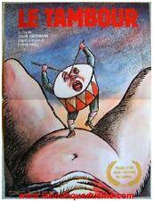 LE TAMBOUR Affiche Cinéma 53x40 Movie Poster CANNES 1979 Volker Schlöndorff