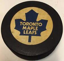 1975-78 Toronto Maple Leafs Cooper Souvenir Hockey Puck NHL