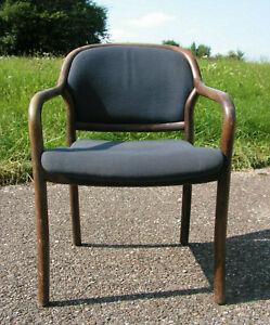 1von12 Armlehnstuhl Armlehn Sessel Schreibtisch-Stuhl Stapelstuhl Bauhaus casala