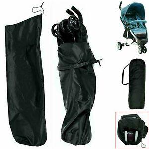 Pushchair Cover Buggy Travel Bag Pram Gate Check Umbrella Stroller Waterproof UK
