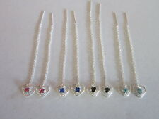 4 sets of Sterling Silver Earrings Black , blue , pink and clear sapphire