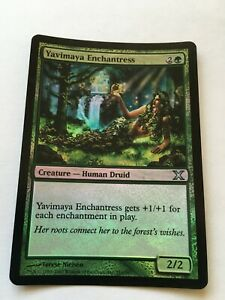 Yavimaya Enchantress * FOIL * Tenth Edition MTG