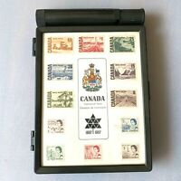 1867-1967 CENTENNIAL CANADA STAMP Collection with box & water dispenser CANADIAN
