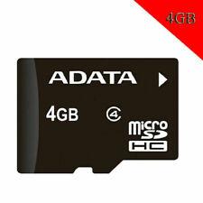 ADATA 4GB Micro SD Class 4 Speed C4 4GB TF Mmemory Card ORIGINAL NEW For Storage