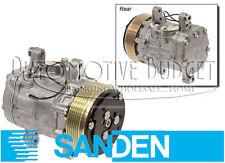 Sanden 7176 Compressor w/Clutch - 6GR SD7B10 Swing Mount - NEW OEM