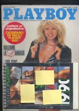 Playboy ed.ITA gennaio 1990 + calendario 1990 sigillato