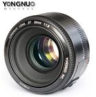 YONGNUO YN 50MM F1.8 Large Aperture Auto Focus lens For Canon EF EOS Camera
