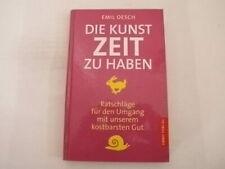 Oesch, Emil - Die Kunst, Zeit zu haben