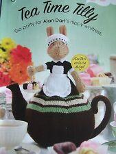 Alan Dart  TEA TIME TILLY Nippy Waitress Teapot Toy Pattern DK