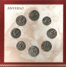 Monedas Eróticas Romanas. I. (I - VIII). Espintrias. Roman Erotic Coins.