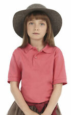 Girls' No Pattern 100% Cotton Polo T-Shirts, Top & Shirts (2-16 Years)