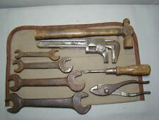 vintage tool kit antuque car tools old wrenches antique auto tool kit accessory