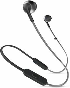 JBL Lifestyle Tune 205BT in-Ear Bluetooth Earphones with Remote, Black