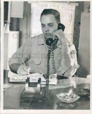 1966 Press Photo Pinellas County Florida Forest Ranger Noel Jones