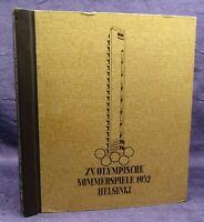 XV. Olympische Sommerspiele 1952 Helsinki Sammelbilderalbum komplett 1955 js