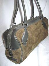 Auth et magnifique  sac à main en   daim et cuir  COCCINELLE  TBEG   bag vintage