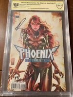 PHOENIX RESURRECTION #1 BROOKS EXCLUSIVE VARIANT 9.8 CBCS SS BROOKS & ROSENBERG!