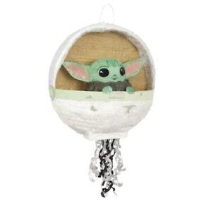 "New Mandalorian ""The Child"" pull string Pinata Baby Yoda birthday party 🎂🎂"