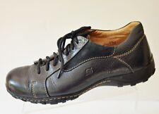 BORN Loomis Men's 11.5M Black Leather Lace Oxfords