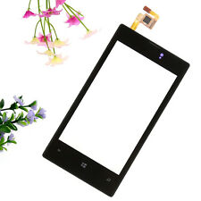 TOUCH DIGITIZER SCREEN LENS GLASS + frame FOR NOKIA N520 LUMIA 520 REPLACEMENT