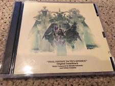 FINAL FANTASY TACTICS advance (2 CD SET) OST GAME ANIME SOUNDTRACK miya records